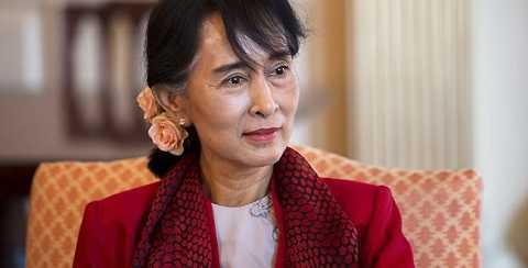 Bà Suu Kyi, lãnh đạo đảng đối lập Myanmar