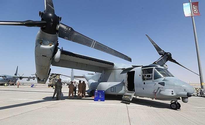 Trực thăng có hình dáng kỳ lạ Bell-Boeing V-22 Osprey của Không quân Mỹ