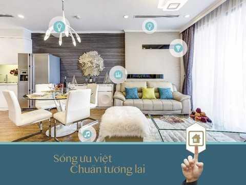Mỗi căn hộ tại Park Hill PREMIUM đều được trang bị hệ thống smarthome mang lại sự thuận tiện, an toàn và đẳng cấp cho gia chủ