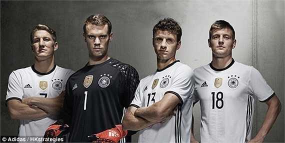 ĐT Đức là ứng cử viên nặng ký nhất cho chức vô địch Euro 2016 khi họ đang là ĐKVĐ thế giới