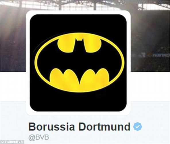 Phong độ khủng khiếp của Aubameyang khiến Borussia Dortmund đổi hình đại diện trên trang Twitter thành người dơi