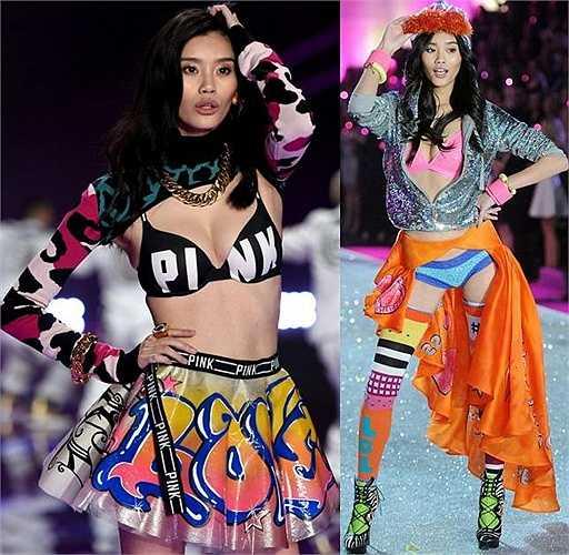 2 siêu mẫu châu Á người Trung Quốc: Sàn diễn VS năm nay đã được xác nhận có sự xuất hiện của 2 siêu mẫu đến từ Trung Quốc là Ming Xi và Sui He.