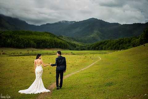 Vẻ đẹp thiên nhiên tại xứ sở cờ hoa khiến cặp đôi rất háo hức.