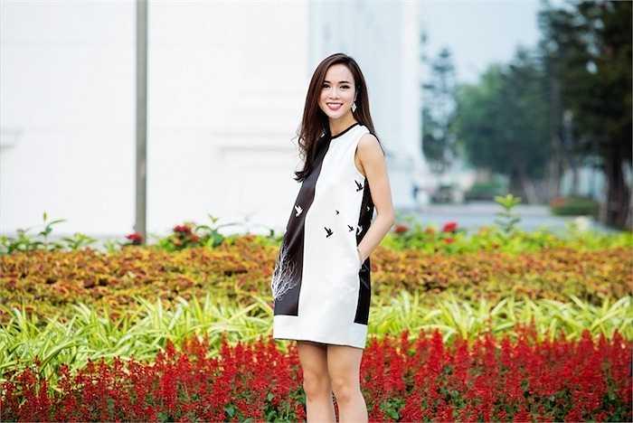 Vũ Ngọc Anh sinh năm 1990, cô từng là sinh viên của Học viện Ngân hàng.