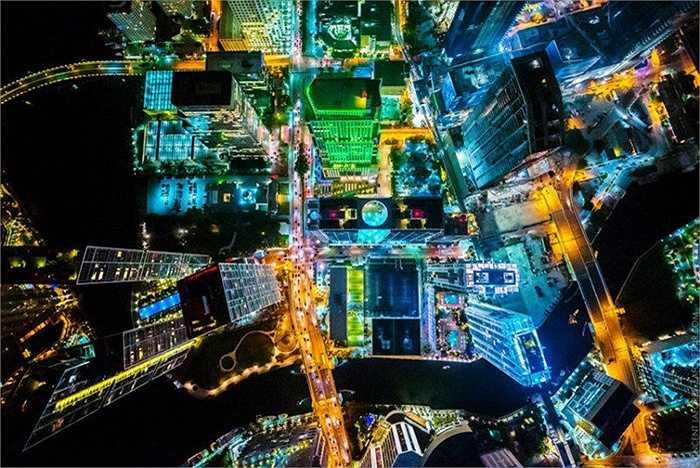 Hình ảnh chụp Miami (Mỹ) về đêm