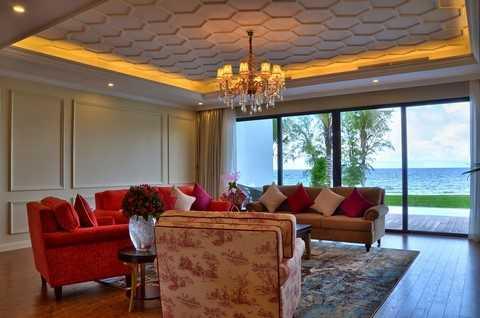 Nội thất Vinpearl Phú Quốc Resort & Golf được thiết kế theo phong cách tân cổ điển, sang trọng