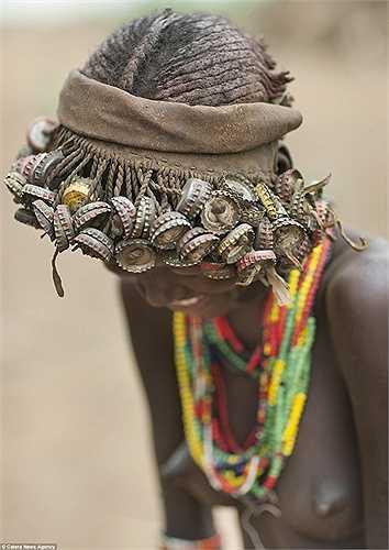 Bộ tộc Daasanech sống ở thung lũng Omo, miền nam Ethiopia, với dân số khoảng 50.000 người