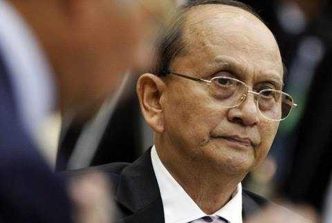 Tổng thống đương nhiệm Thein Sein