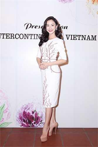 Á hậu 1 Hoa hậu Đại dương 2014 Lê Thị Hà Thu đã có buổi ra mắt chính thức với giới truyền thông và chia sẻ nhiều thông tin thú vị trước ngày lên đường tham gia cuộc thi HH Liên lục địa 2015