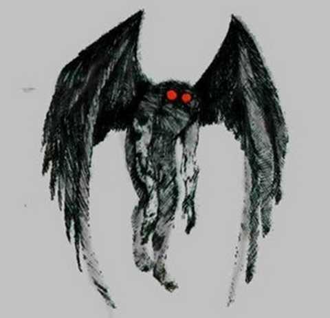 Quái vật người cú có đôi mắt rực lửa như đến từ địa ngục