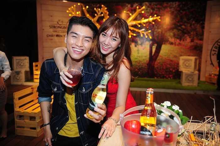 Vốn là người Hàn Quốc và thường xuyên đi du lịch nước ngoài, Hari Won từng không ít lần được thưởng thức những loại thức uống lên men.