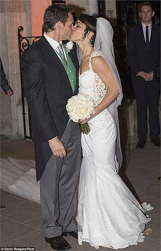 Đám cưới của cặp đôi này được tổ chức tại khu Soho Square, ngay ở thủ đô London