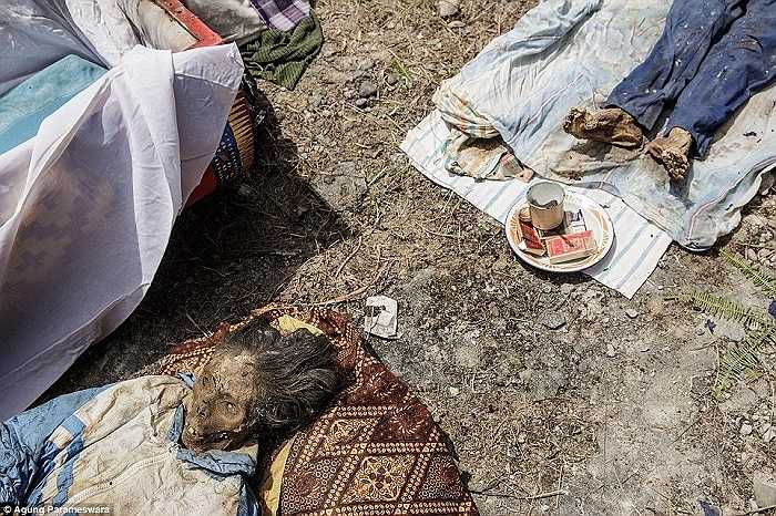 Trước khi đến đám tang, người quá cố được coi là 'người bệnh' hay 'người đang ngủ' vì người dân địa phương không tin rằng họ đã chết cho đến khi họ được chôn cất chu đáo