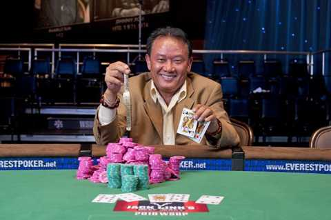 Men Nguyễn và lần chiến thắng trên sòng bạc (Ảnh: Nhân vật cung cấp)