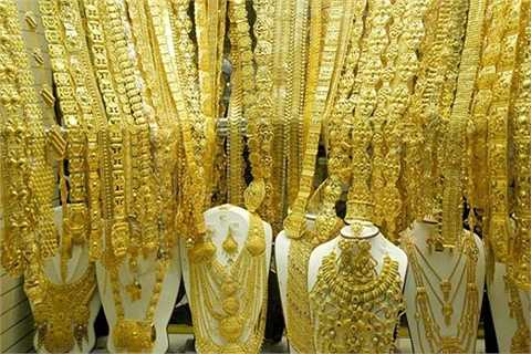 Khu chợ chuyên bán vàng và các kim loại quý