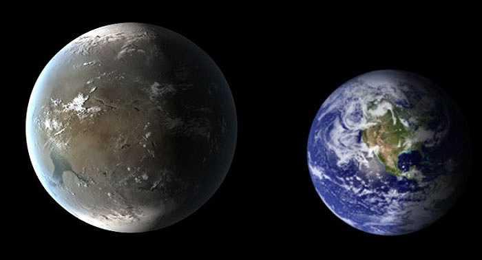 Nằm cùng một hệ sao với Kepler-62e, hành tinh Kepler-62f lớn hơn Trái đất 40%, cách Trái đất một khoảng 1.200 năm ánh sáng, quay quanh sao mẹ nhỏ và có nhiệt độ thấp hơn so với Mặt trời. Hoàn thành quỹ đạo quay trong 267 ngày, Kepler-62f được nhận định có thể nằm trong 'vùng sống'.