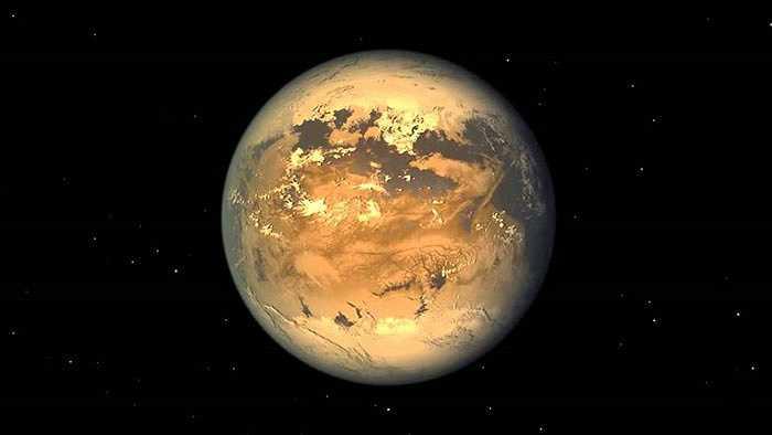 Kepler-186f là hành tinh có kích thước tương tự Trái đất, nằm cách Trái đất 500 năm ánh sáng, lớn hơn Trái đất 10%, sao mẹ của Kepler-186f là một hành tinh lùn màu đỏ, tuy nhiên do nằm xa sao mẹ nên Kepler-186f chỉ nhận 1/3 năng lượng từ sao mẹ so với Trái Đất nhận được từ Mặt Trời. Theo các nhà khoa học, khoảng cách giữa Kepler-186f tới ngôi sao mẹ đủ xa để nước có thể tồn tại dưới dạng lỏng.