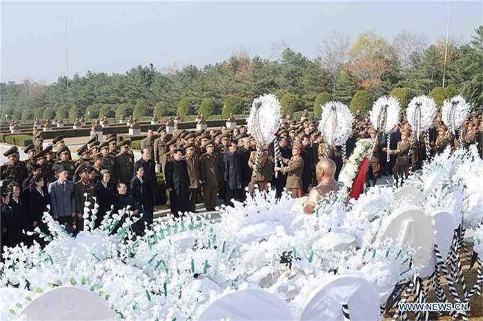 Đám tang ông Ra Uh Sol được tổ chức theo nghi lễ cấp nhà nước