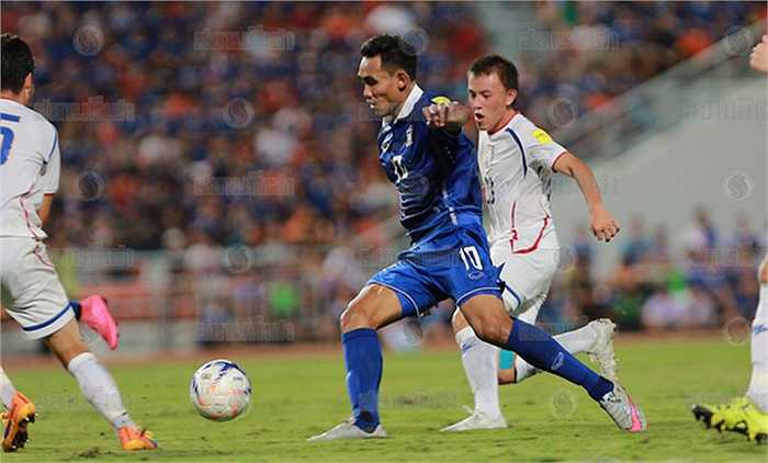 Đài Loan TQ làm được trong trận đấu này tất cả chỉ có thế. Với bản lĩnh lẫn đẳng cấp vượt trội, Thái Lan luôn tìm được cách gỡ hòa, vươn lên dẫn trước và ấn định chiến thắng 4-2