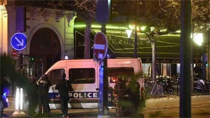Khoảng 100 con tin bị bắt cóc tại nhà hát Bataclan