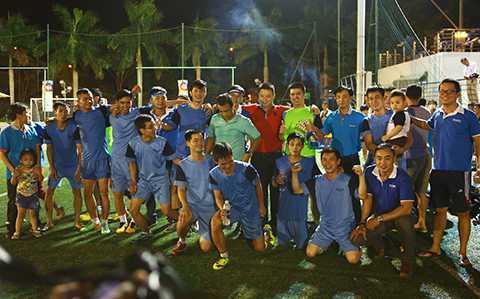 Tuyên Sơn Foundation Cup 2015, Sacombank, giành ngôi vô địch, Đà Nẵng, thể thao phong trào