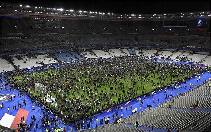 Sân vận động Stade de France sau vụ tấn công