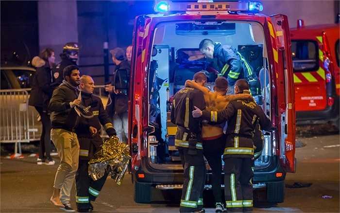 Những người bị thương ở sân vận động Stade de France