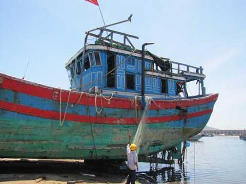 ngư dân, kiện tàu Trung Quốc, mù mờ tung tích, bị đơn, Đà Nẵng, ĐNa 90152TS