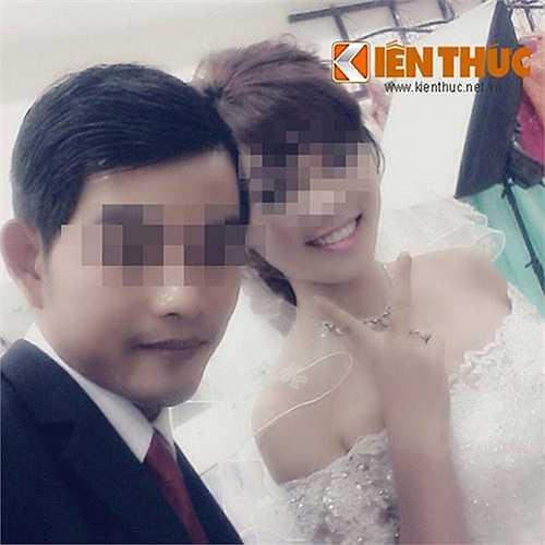 Danh tính các nạn nhân được xác định là bà Đoàn Thị L. (40 tuổi) và con gái là Nguyễn Thị Thái H. (SN 1997, cùng quê Nam Định). Trong ảnh là nạn nhân H. cùng chồng sắp cưới. (Ảnh: gia đình nạn nhân cung cấp.)