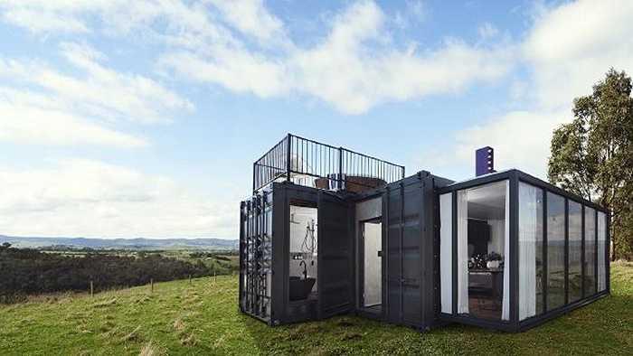 Một container đã được chuyển đổi thành khách sạn 5 sao ở Sydney. Khách sạn đặc biệt này sẽ nổi ở khu vực cảng Sydney với những tiện ích như những khách sạn sang chảnh khác