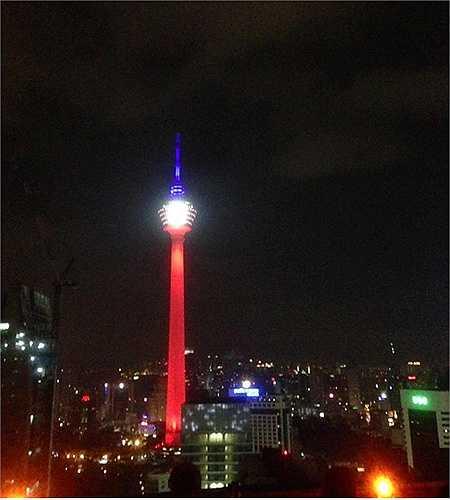 Kuala Lumpur Tower ở thủ đô Kuala Lumpur, Malaysia