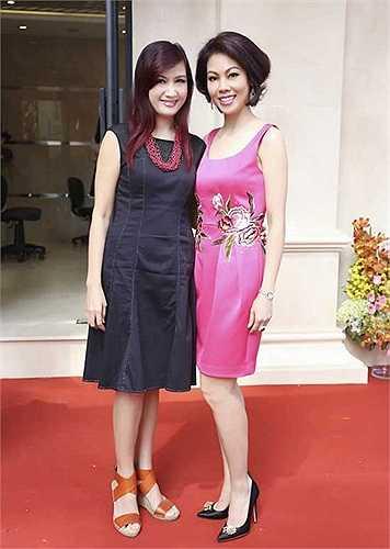 Diễn viên Hiền Mai kém đẹp vì trang phục không phẳng phiu.