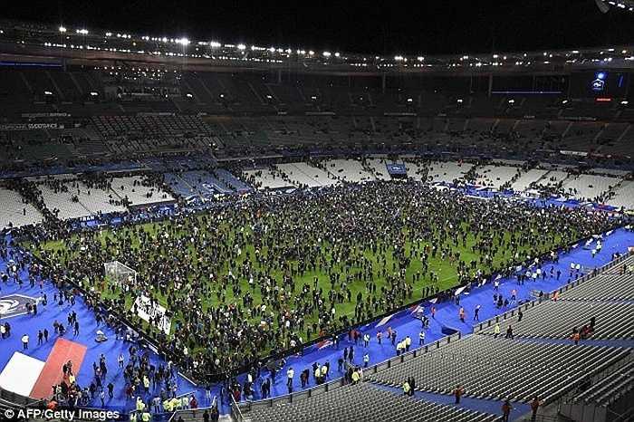 Sân vận động quốc gia Pháp tràn ngập khán giả