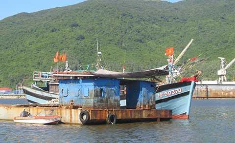 Hàng trăm tàu Trung Quốc, bao vây, phá lưới, tàu ngư dân, Đà Nẵng, Việt Nam