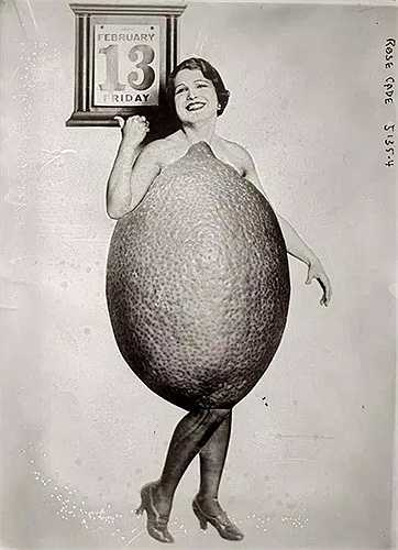 Một cuộc thi sắc đẹp kỳ quái là Hoa hậu Quả chanh. Người ta cũng không rõ người tổ chức ra cuộc thi này có phài cùng một nhà sáng lập ra cuộc thi Hoa hậu Cam hay không