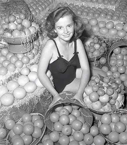 Cuộc thi Hoa hậu Cam. Trong hình là cuộc thi năm 1930
