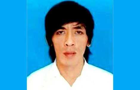 """Đỗ Thanh Sơn tự """"Tuấn Em"""".  (Ảnh do cơ quan công an cung cấp)"""