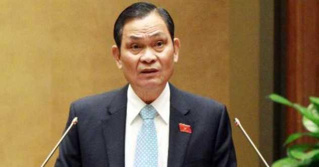 Bộ trưởng Nguyễn Thái Bình