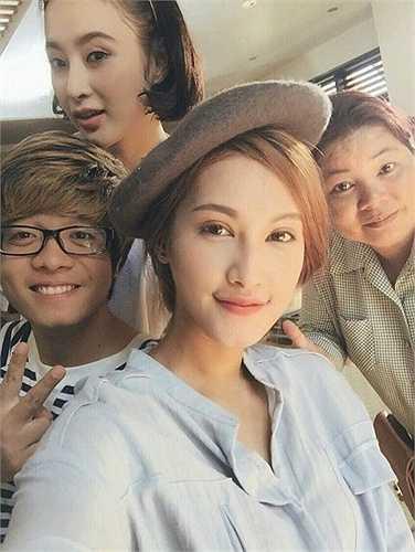Emmy Nguyễn được cho là bạn gái mới của Mạc Hồng Quân.