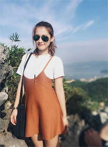Cô là hotgirl nổi đình đám thời gian qua và có rất nhiều fan trên facebook.