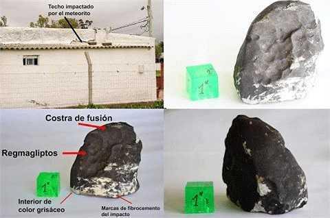 Mảnh thiên thạch rơi xuống Uruguay là một mảnh thiên thạch quý, có kết cấu từ đá với thuộc tính không thay đổi từ khi hình thành Hệ Mặt Trời. Hiện, các nhà khoa học  Uruguay cùng bảo tàng Quốc gia Rio de Janeiro (Brazil) đang tiếp tục nghiên cứu mảnh thiên thạch này.