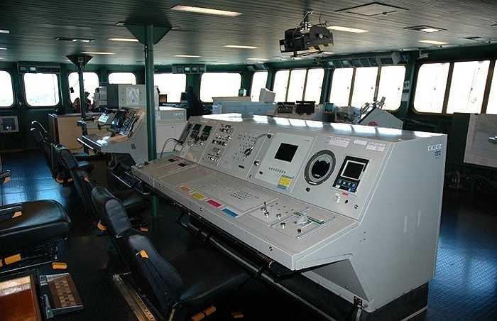 Khoang chỉ huy của tàu, Charles de Gaulle là 'át chủ bài' của Hải quân Pháp và là chiến hạm lớn nhất Tây Âu hiện tại