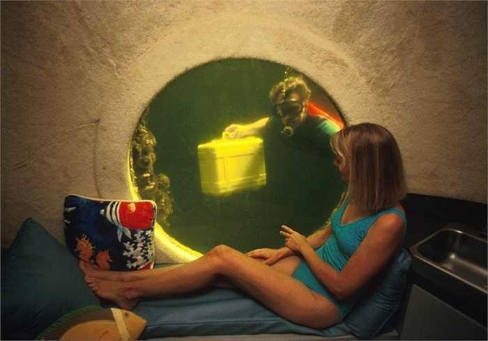 Jules' Undersea Lodge ở Key Largo, bang Florida, Mỹ là khách sạn dưới biển độc đáo. Du khách có thể ngắm nhìn sinh vật biển từ cửa kính mọi căn phòng. Khách sạn cũng cung cấp dịch vụ lặn biển, khám phá đời sống thủy sinh.