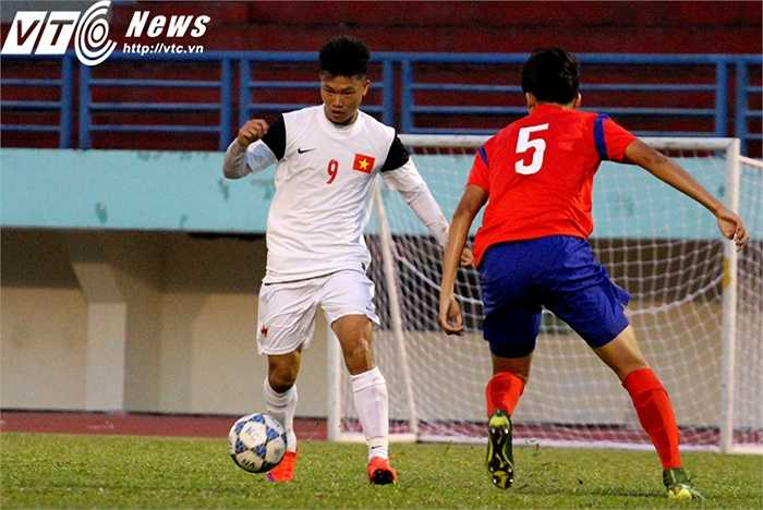 HLV Phạm Minh Đức đánh giá Văn Thành là tiền đạo chất lượng nhất mà ông có thể lựa chọn sau giải U21 Quốc gia
