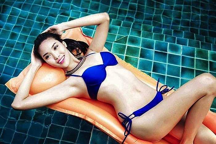 Hình thể chuẩn với chiều cao 1m76, số đo 3 vòng: 84 - 60 - 90 (cm) và nụ cười rạng rỡ không 'cứu' được những lời nhận xét thiếu tích cực cho nhan sắc không hợp nhãn khán giả Việt của Lan Khuê.