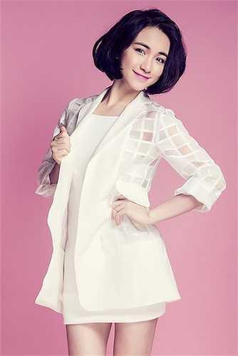 Hòa Minzy là cái tên được nhắc đến nhiều nhất năm 2015 với danh nghĩa 'bạn gái Công Phượng'.