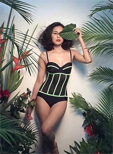 Trước khi đảm nhận vai Tấm trong phim điện ảnh 'Tấm Cám', Hạ Vi đã làm người mẫu ảnh thời trang cho nhiều thương hiệu.