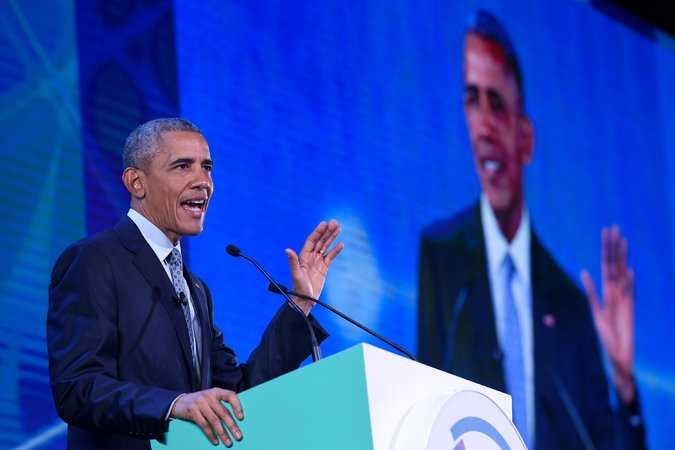 Tổng thống Obama tại Hội nghị APEC đang diễn ra ở Manila, Philippines