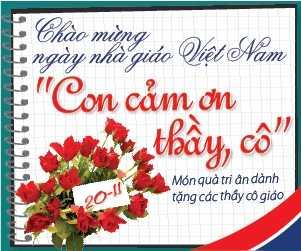 Ngày Nhà giáo Việt Nam 20/11