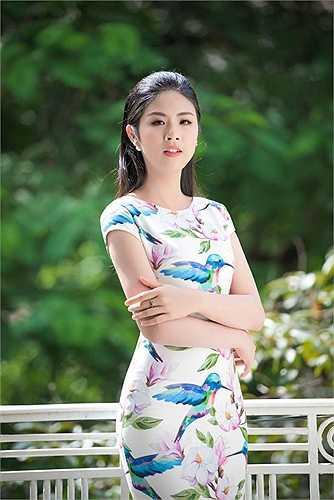 Không tham gia nhiều hoạt động của showbiz, Ngọc Hân dành niềm đam mê cho thời trang.